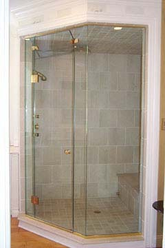 Neo Angle Steam Shower Door