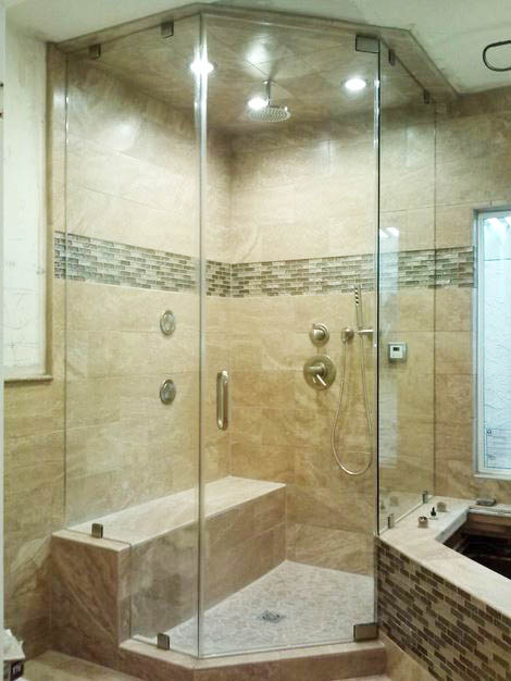 Steam Shower Door Gallery