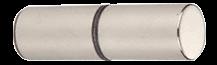 Cylinder Style  Back-to-Back Shower Door Knob