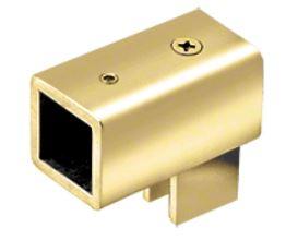 "Swiveling U-Bracket for 3/8""-1/2"" (Polished Brass)"