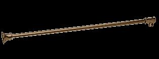 Oil Rub Bronze Frameless Shower Door Fixed Panel Wall-To-Glass Support Bar