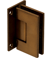 Geneva Oil Rub Bronze Wall Mount Full Back Plate Standard Hinge