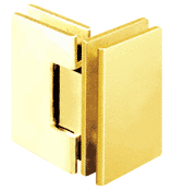 Geneva 092 Series Gold Plate 90° Glass-To-Glass Hinges