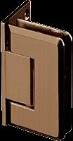 Pinnacle 044 Series Oil Rub Bronze Wall Mount Offset Back Plate Standard Hinge