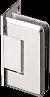 Pinnacle 044 Series Satin Nickel Wall Mount Offset Back Plate Standard Hinge