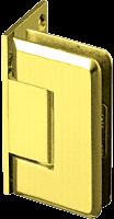 Pinnacle 044 Series Ultra Brass Wall Mount Offset Back Plate Standard Hinge