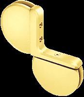 Rondo 004 Gold Plate Inline Mount Pivot Hinge