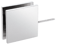 Square Wall Mount Movable Transom Clamp