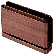 Senior Prima 01 Series Antique Brush Copper Top or Bottom Mount Hinge