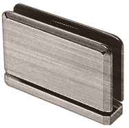 Senior Prima 01 Series Antique Brushed Nickel Top or Bottom Mount Hinge