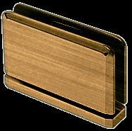 Senior Prima 01 Series Antique Brass Top or Bottom Mount Hinge