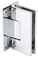 Vienna 337 Adjustable Chrome Wall Mount Hinge