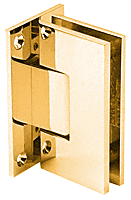 Vienna 337 Adjustable Gold Plated Wall Mount Hinge