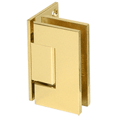 Vienna 044 Series Polished Brass Wall Mount Hinge